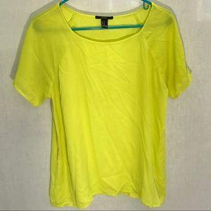 Super cute neon yellow shirt